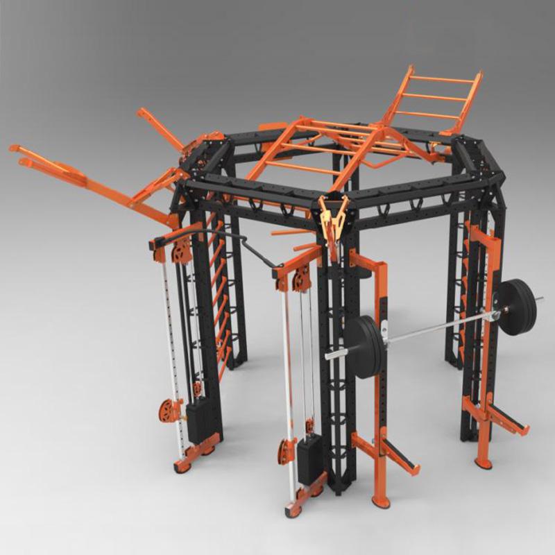 施菲特SevenFiter模块化3D空间训练站(六角) SF